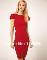 hot sale free shipping  2014 fashion new arrivel ruffles sexy dress