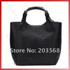 Fashion Women Lady PU Leather Purse Hobo Shoulder Handbag Tote Shopping Bag Black