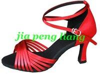 Hot Sale Latin Dance Shoes Women's Ballroom Shoes 7.5cm Heels 8 Colors EU Size 34-40 Free Shipping