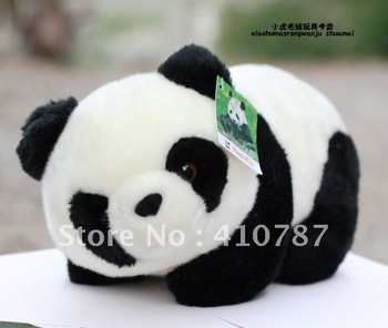 Free Shipping/16cm/Panda/Chinese Special animals/Super simulation/Plush toys/stuffed toy/Doll/Fashionable/popular/gift/MBB02-1