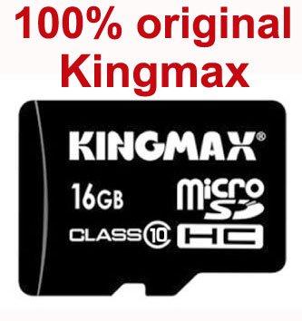 Карта памяти 100% Kingmax /16 SD 10 ,  CPAM