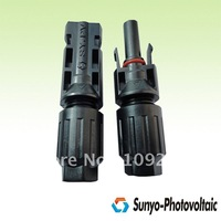 4.0mm MC connector 1000V DC 30A  200 pairs/lot TUV certification free shipping for pv connector spanner gift