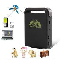 Hot Selling Mini Realtime Car Waterproof Vehicle GPS Tracker Alarm System TK102B + 2pcs Battery + USB Cable