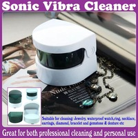 Sonic  Wave Jewelry & Dentures Vibra Ultrasonic Cleaner_Free Shipping