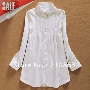 Long Sleeve Dress on White Dress Shirt For Women Long Sleeve Shirts Fashion Design Classic