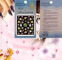 Nail sticker supplier ,tip nail arts , Mix 30 designs to wholesale ! Free shipping !