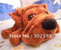 "RUSS 10"" dog plush toys,Simulation Shar Pei dog,Wonderful gift,free shipping"
