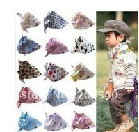 free shipping brand NEW Cotton Funky Baby Kids Triangle Bib Headband Scarf
