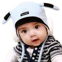 Free Shipping Wholesale 20pcs/lot 3 colors mixed baby hat! Pikachu style ear hat children hats