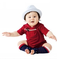 2013 NEW 18M-4Y Baby Romper Infant Bodysuit-Red day-time wear ,5 sets/Lot Free Shipping