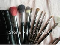 Free shipping 9Pcs Professional Cosmetic Makeup Brush Set factory price