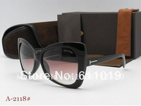 Free shipping fashion sunglasses/woman sunglasses/butterfly frame