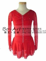 boart hot sales Ice Skating Dress Beautiful  New Brand vogue Figure Ice Dress Competition customize A1033
