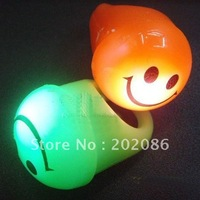 12pcs Smily flashing ring Led soft ring Party Light ring fast delivery free shipping
