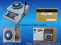 PET Loyalty Card Indenting Machine+Free Shipping