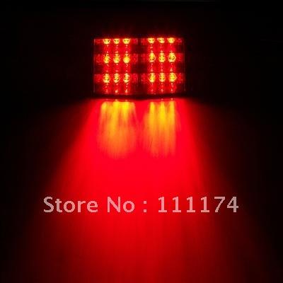 Red 18 LED Car Windscreen Strobe Blinking Dash Lights(China (Mainland))