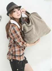 Hot selling !!Free shipping Women handbag, fashion bag, suede, Girl,Mix batch Exempt freight CX1013(China (Mainland))