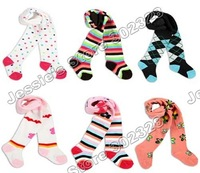 New 2013 Arrival Toddlers Tight Girls Pants Trousers18pcs/lot Mix 6 Designs