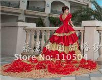 Classic wedding royal family wedding long-tail wedding luxury wedding w5