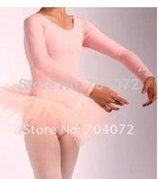 Wholesale -50pcs/lot Tutu Dancing Costume Girls Fairy Dress free Shipping Pink /blue Girls Dancing Dress