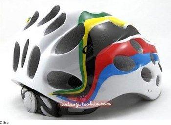 2012 NEW Cycling BMX BICYCLE HERO BIKE Rainbow HELMET with Visor