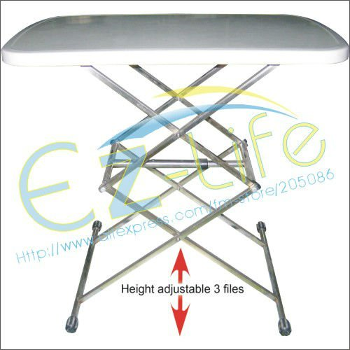 Factory price wholesale, multi-function folding table, adjustable portable suitable for tea *writing *dining desk* camping table(China (Mainland))