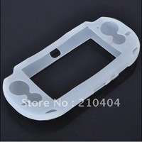 White Soft TPU Protective Case Silicon Skin Case for Sony PSP Playstation PS Vita PSV Psvita case 10pcs free shipping