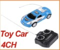 Children Toy Car Vehicle 4 Channels Radio Remote Control Blue