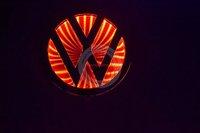 Car logo styling/3D car badge light of VW Bora/ free shipping