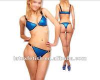 latex sexy bikini latex fashion bikini for women  bikini and underwear