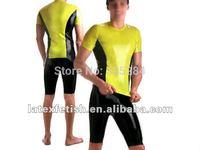 latex shirt for man 100%nature latex T-Shirts latex catsuit