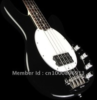 New Arrival Music Man Sting Ray Guitar in pure Black color