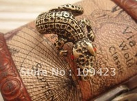 New Fashion Jewelry  Ring Personality Crocodile Rings  60pcs Free Shipping  LTKE-1105