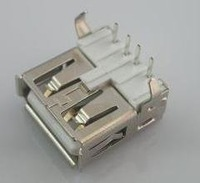 USB Connector A type Female DIP Right Angle PBT material free shipping 2000pcs by UPS