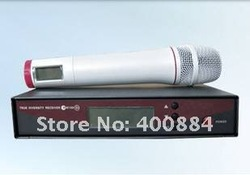 Free shipping  new box mic  EW135G2 UHF White handheld wireless microphones