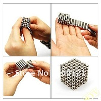 216 x 3mm Magic Magnet Magnetic DIY Balls Sphere Neodymium Cube Puzzle Amazing Intellectual Toy