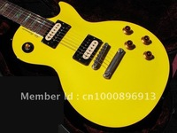 Musical Instruments cherry  Custom Shop Canary Yellow Electric Guirar