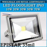 Free shipping/DHL led Floodlight 50W IP65 AC85-265V 50W warm white / cool white