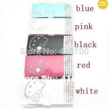 K127  Hellokitty LADY Girl Bifold Rose Long Purse Wallet kitty bag 5 colors White/Black/Rose/Pink/Blue