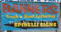 2'x6' Full Color Vinyl Banner printing/PVC banners