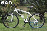 High quality mountain bike, Japanese famous brand bicycle accessories 21speeds, 2 disc-brakes 3Presents Free shipping