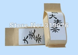 wholesale free courier brown kraft paper tea packaging bags,moistureproof kraft teabag packing bag(China (Mainland))