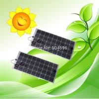 2 x 100W Semi-Flexible solar panels panel for car boat varavan CE, total 200w