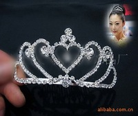 Free shipping,2012 years of very beautiful head hoop, Alloy, set auger bride crown tiara.