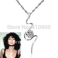 925 silver wholesale female of classic maggie cheung proud unbeaten endorsement that necklace pendant D8535