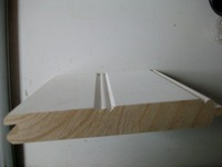 Cedar FJ Primed bead wall TG, Primed wainscoting,Wall panel window jamb, primed moulding ,door window frames,wood Moulding