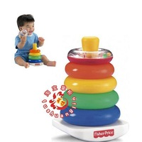 Promotion/free shipping Via China Post Air Mail/FISHER FISHER PRICE rainbow rings/cascade rings