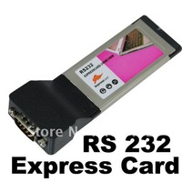Express Card ExpressCard to RS-232 serial I/O CARD New 40092