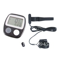 Bike Bicycle LCD Cycle Computer Odometer Speedometer 40096