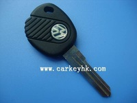 Free shipping VW transponder car key casing, key shell,key blank and key cover